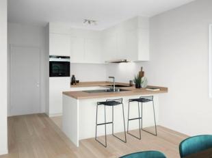 Vous trouverez ce bel appartement à vendre dans la résidence Brooklyn du projet Park Lane sur le site Tour & Taxis à Bruxelle