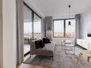 Vous trouverez ce bel appartement orienté sud à vendre dans la résidence Central du projet Park Lane sur le site Tour & Taxis