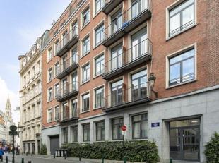 Ruim recent 2 slaapkamer appartement te koop in het centrum van Brussel. Het appartement bevindt zich op 250 meter van de Grote Markt van Brussel. Gel