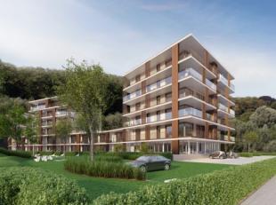 Nieuwbouwproject Green Front omvat 56 nieuwbouwappartementen te koop, wordt opgetrokken aan de Vaartdijkstraat in Brugge en ligt naast het kanaal Brug