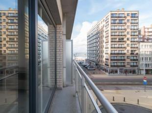 Instapklare studio met slaaphoek, terras en zijdelings zeezicht gelegen op de derde verdieping van de Residentie Vandenheuvel te Middelkerke, Leopoldl