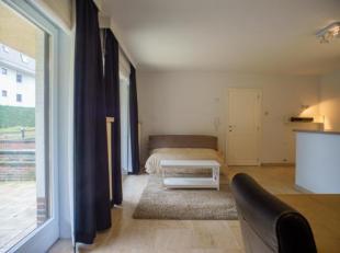 Studio in een kleinschalige residentie gelegen in een rustig paadje op enkele passen van de zee.<br /> Het appartement met slaaphoek beschikt over een