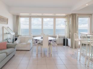 Appartement met 2 slaapkamers en prachtig frontaal zeezicht, gelegen op de vijfde verdieping van de residentie Ambassador, Zeedijk 214.<br /> Indeling