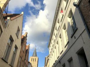 Lichtrijk, charmant appartement te huur met 1 slaapkamer in centrum Brugge, nabij de Langerei.<br /> Indeling:<br /> 2°V: Inkom (3m²) met apa