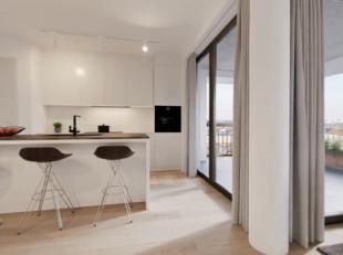 Dit prachtig appartement beschikt over een totale oppervlakte van 75m² en een terras van 9m². Dit 1-slaapkamerappartement biedt u een mooi z