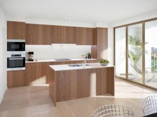 Dit prachtig appartement beschikt over een totale oppervlakte van 92m² en een terras van 12,80m². Dit 2 -slaapkamerappartement biedt u een m