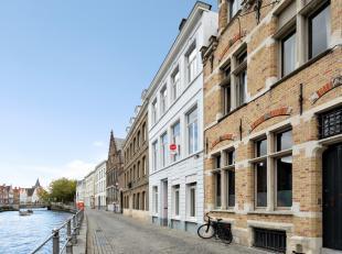 Dit mooie, te renoveren, appartement bevindt zich op een absolute topligging in het centrum van Brugge in het mooie Sint-Annakwartier aan de Sint-Anna