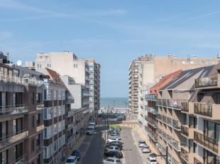 Ruim appartement met 1 slaapkamer, terras voorzien van een schuifvliegenhor en zeezicht. Het appartement is gelegen in het centrum van Middelkerke op