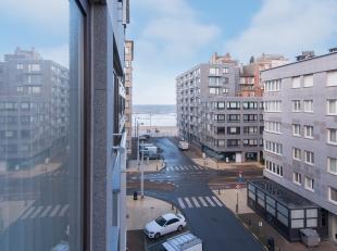 Instapklare studio met zijdelings zeezicht gelegen op de vierde verdieping van de Residentie Sunflower te Middelkerke, Alexandre Ponchonstraat 7. Deze