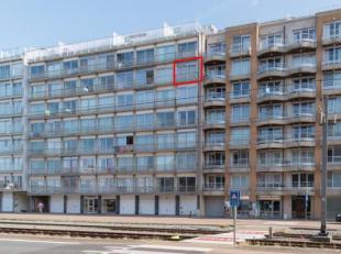Studio gelegen op de zevende verdieping van de residentie Royal, Henri Jasparlaan 174-176 Westende. Deze studio ligt op wandelafstand van de zee, de w