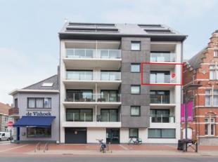 Luxueus afgewerkt 2 slaapkamerappartement met zonneterras gelegen op de derde verdieping van de Residentie Rodin - Kerkstraat 18, Middelkerke. Dit app