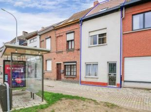 Te renoveren gezinswoning met 2 slaapkamers (mogelijkheid tot 4 slaapkamers!) en gezellige stadstuin, gelegen op de stadsrand van Mechelen.<br /> De r