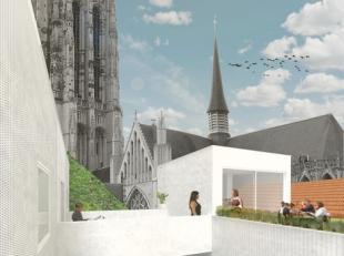 Beschrijving Te huur: Uitzonderlijk goed gelegen nieuwbouw woonunit in Mechelen centrum, vlakbij de Grote Markt Huis van Lorreinen Frederik de Merodes