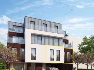Dit 2-slaapkamerappartement met mooi en ruim terrasis gelegen op de eerste verdiepingin het nieuwbouwproject Residentie Bellinimet nog 6 andere appart