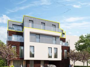 Deze unieke penthouse is gelegen in het nieuwbouwproject Residentie Bellinimet nog 6 andere appartementen. Het gebouw is gelegen op een topliggingin h