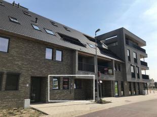 Stijlvol gelijkvloers nieuwbouwappartement met aangenaam terras<br /> Troeven:<br /> ·Tevens geschikt als investering!<br /> ·Groen aang