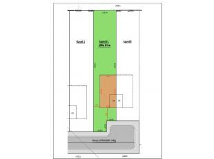 Lot 4 voor halfopen bebouwing. Lot gelegen in een recente goedgekeurde verkaveling, rustig gelegen aan een nieuw aangelegde weg te Willebroek (Tisselt