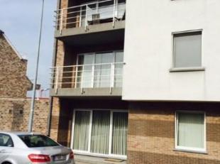 ruim appartement (V1), met terras (zuid) en autostaanplaats (-1) , in recent gebouw, met lift; + 100 m2; 2 slpk; ruime living; ruime, volledige keuken