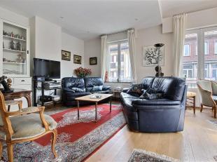 TOURNAI - Appartement (94 m²) au 1er étage d'une petite copropriété sans ascenseur, 2 chambres, terrasse. Coefficient &eacut