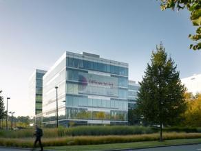 Flex kantoren van 418m² beschikbaar op de eerste verdieping. <br /> <br />  Gemeenschappelijke lasten: ± 25 EUR/m²/jaar <br /> <br />  Onroerende voor