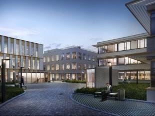 Gebetonneerde industriële site maakt plaats voor aangename woon- en werkplek met verschillende groenvoorzieningen en buurt ondersteunende functie