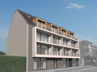 Nieuwbouwappartement te huur in de nieuwe residentie De Lombarden te Lombardsijde.  Dit appartement is gelegen op de gelijkvloerse verdieping en omvat