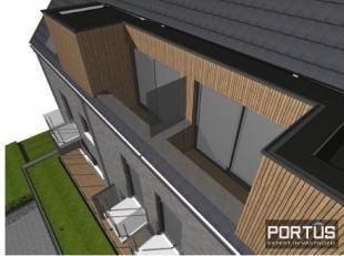 Ruim nieuwbouw duplex-appartement te huur in de nieuwe residentie De Lombarden te Lombardsijde. Dit appartement is gelegen op de derde en de vierde ve