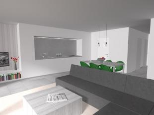 Ruim nieuwbouw duplex-appartement te huur in de nieuwe residentie De Lombarden te Lombardsijde.  Dit appartement is gelegen op de derde en de vierde v