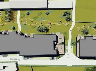 Prachtig gelegen nog te bouwen nieuwbouwappartement met 2 slpks palend aan een sfeervolle binnentuin, 2 gemeenschappelijke binnenruimtes, onderstaande