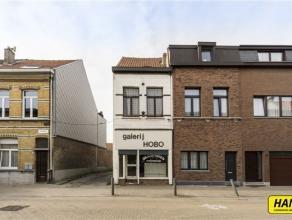 Volledig te renoveren woning (CASCO) met een bewoonbaar oppervlakte van 93m² op een perceel van 132m². Er zijn geen toestellen of verwarming