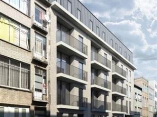 Prachtig nieuwbouw  appartement  van ca 83m² met 2 slpks. en terras  gelegen op de 3de verdieping in een gebouw van 4 hoog met lift. Ruime leefru