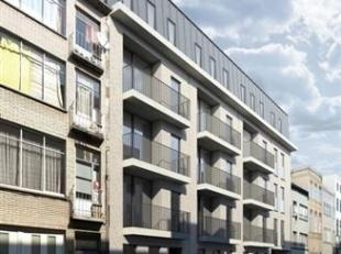 Prachtig nieuwbouw  appartement  van ca 75m² met 2 slpks. en terras  gelegen op de 3de verdieping in een gebouw van 4 hoog met lift. Leefruimte v
