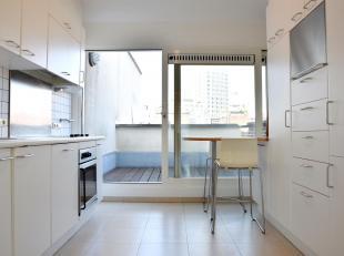 """Appartement met dakterras en 2 slaapkamers gelegen op de bovenste verdieping van een klein gebouwin de """"Wilde Zee"""", de exclusieve winkelbuurt van Antw"""