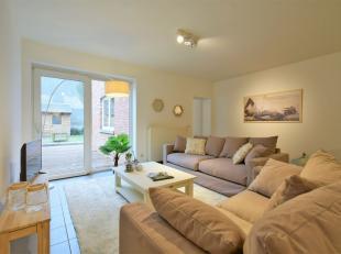 Ruim appartement met leuke tuin en terras nabij het centrum van Brugge.