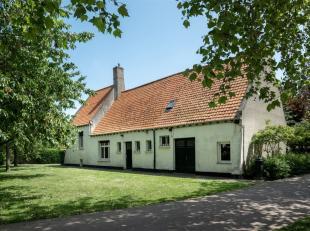 Te renoveren fermette in een prachtig park aan het Kasteel van Uitkerke - Blankenberge.