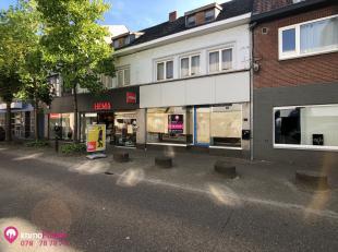 """Te vernieuwen handelspand met woonst (4slpks), pal in centrum Houthalen-Helchteren ! <br /> <br /> Bij ImmoFusion  7/7 """"open huis""""  : klik op onze 3D-"""