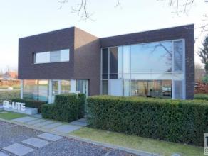 Unieke moderne villa, lage energie villa E46 (!), ontworpen door architect Toon Saldien en opgericht op een mooi perceel van 1.427m² (zuidgeori&e