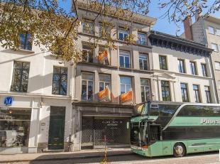 Uitzonderlijk gelegen winkelpand van ca 80 m² met prachtig zicht op Den Botaniek middenin het modecentrum in hartje Antwerpen in de bruisende win