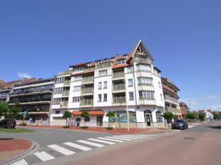 Ruim en recent appartement in een schitterende residentie in Normandische stijl in het centrum van Knokke op wandelafstand van de zeedijk en de winkel