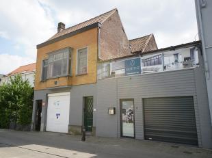 TOPPER in het centrum van de studentenbuurt Gent!<br /> Interessant investeringsproject momenteel bestaande uit twee panden:<br /> - pand 1: garage/