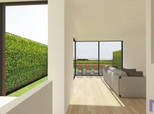 Uitzonderlijke architectuur met 152m² bewoonbare oppervlakte.