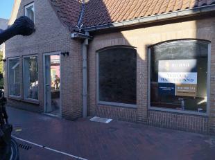 Handelspand gelegen in de Zilversteeg in de verbindinsweg tussen Zuidzandstraat en Noordzandstraat. <br /> <br /> Ondergrondse parking Zilverpand<br /