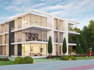 Gelijkvloers appartement met 2 ruime slaapkamers die voorzien zijn van elk een eigen terras. Aanwezig zijn een badkamer met apart toilet, een berging