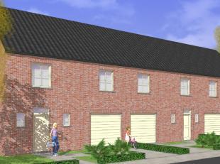 LAATSTE nieuw te bouwen halfopen woning op een goede ligging. De grond (zuidgericht) bevindt zich vlakbij een school, bakkerijen, slagers,.... Centrum