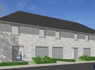 Nieuw te bouwen gesloten woning op een goede ligging. De grond (zuidgericht) bevindt zich vlakbij een school, bakkerijen, slagers,.... Centrum Belzele