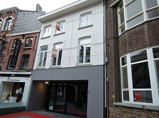 Dit gerenoveerde duplex appartement op de 2de en 3de verdieping bestaat uit  een inkomhal, living, keuken, berging, toilet, badkamer, 2 slaapkamers en