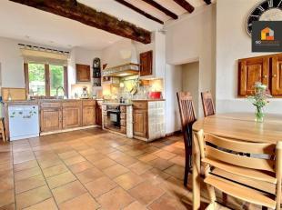 A la limite de Thorembais, dans le charmant village de Glimes,GO Immobilier vous propose cette magnifique maison 4 ch (possibilité 5ch) avec un