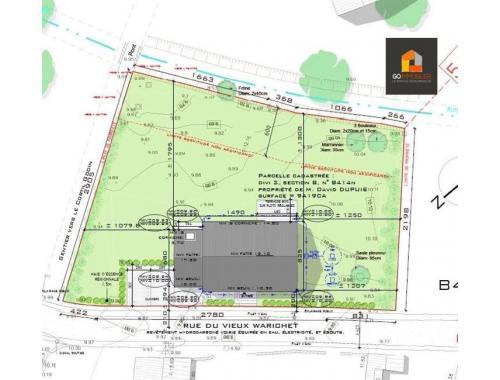Terrain à bâtir à vendre à Nil-Saint-Vincent-Saint-Martin, € 125.000