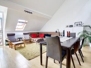 STEPHANIEPLEIN (LOUIZALAAN) //<br /> In een kalme en zeer gezochte straat, mooi appartement duplex twee slaapkamers van 95 m². Hij bestaat uit ee