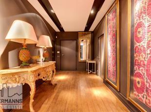 UCCLE// Bel appartement de standing ( 193 m²) de 2 chambres situé à dans un quartier calme et à proximité des espaces